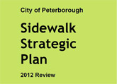 Thumbnail City of Peterborough Sidewalk Strategic Plan